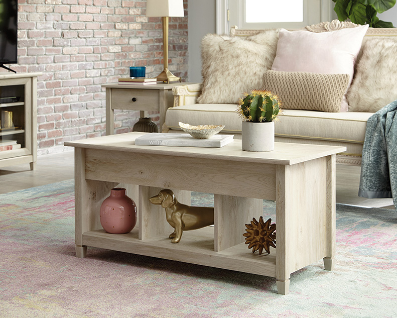 Cool Curiod Lift Top Coffee Table 424969 Sauder Sauder Ncnpc Chair Design For Home Ncnpcorg